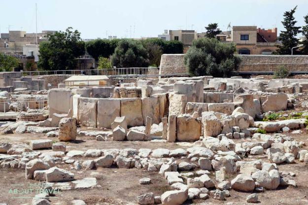 Templos megalíticos de Tarxien en Malta