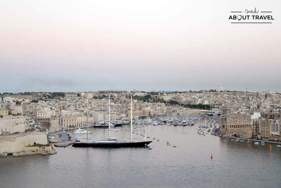 Atardecer en La Valletta