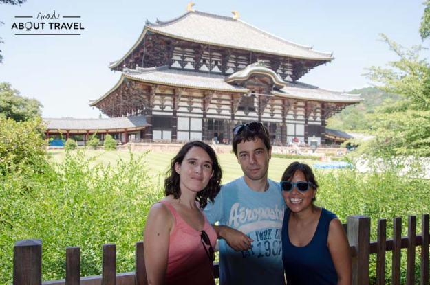 Todos en Nara, Japón