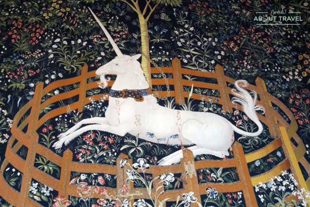 Tapiz del unicornio en el castillo de Stirling