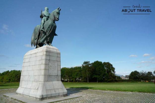 Campo de batalla de Bannockburn en Stirling