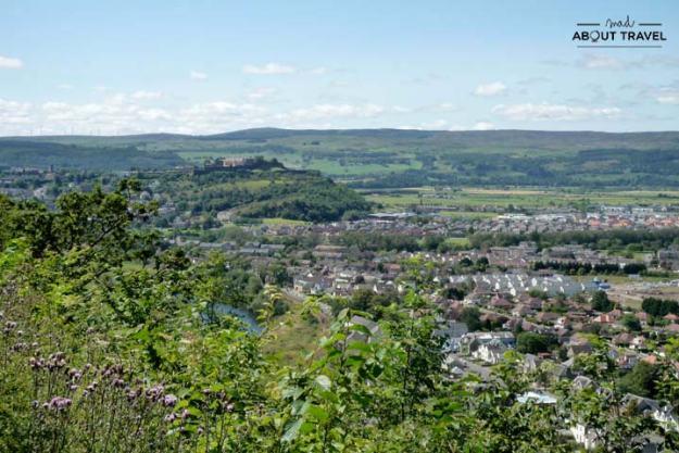 Vistas desde el monumento a William Wallace