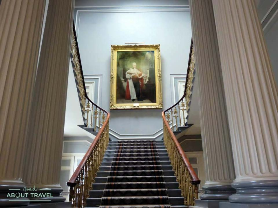 EScalinata en la Signet Library en Edimburgo