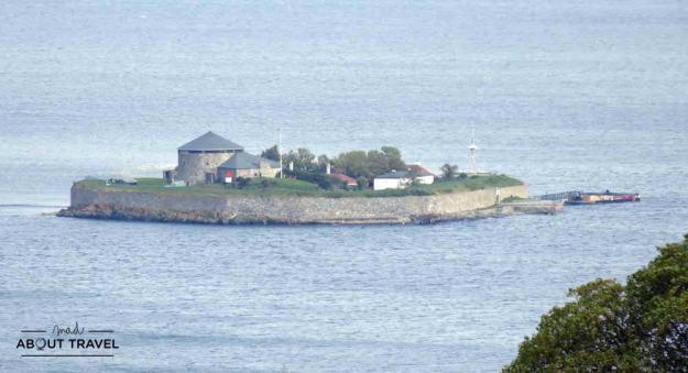 Isla de Munkholmen frente a Trondheim