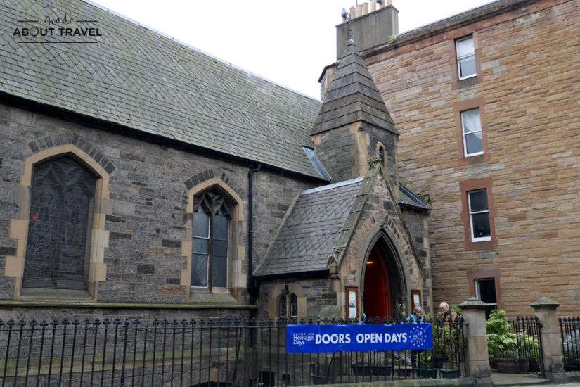 st vincent's chapel stockbridge edimburgo
