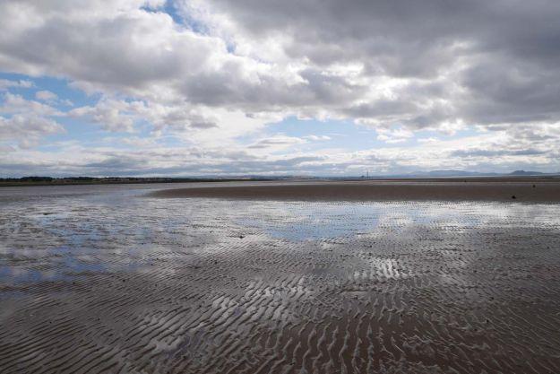 Bahía de Aberlady en Escocia