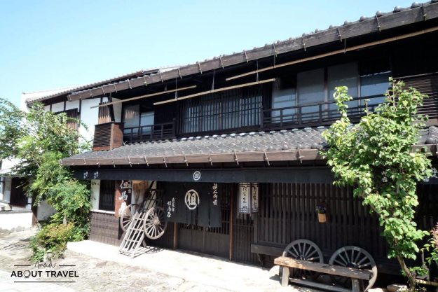 Tajimaya Inn en Magome Ruta del Nakasendo