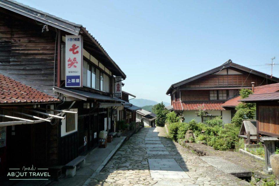 Pueblo de Magome, ruta del Nakasendo, Japón