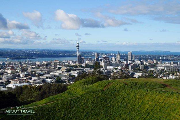 Vistas de Auckland desde Mt Eden