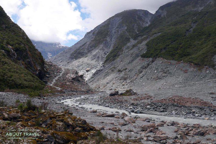 Glaciar Fox en Nueva Zelanda