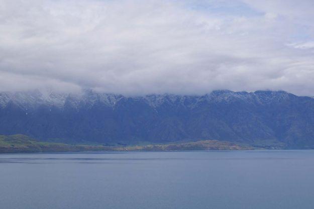 The Remarkables y el lago Wakatipu en Queenstown Nueva Zelanda