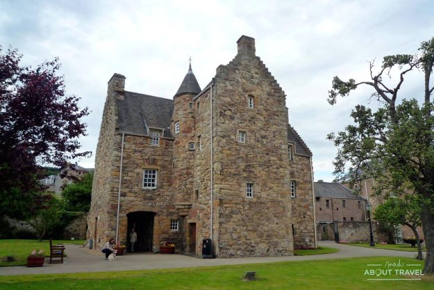 Casa de Mary Queen of Scots en Escocia