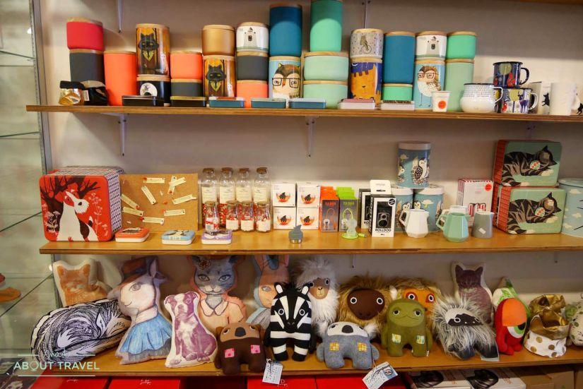 De compras en Auckland: Monster Threads