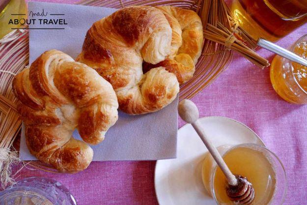 Desayuno en Le Jardin de Marie en Aix-en-Provence