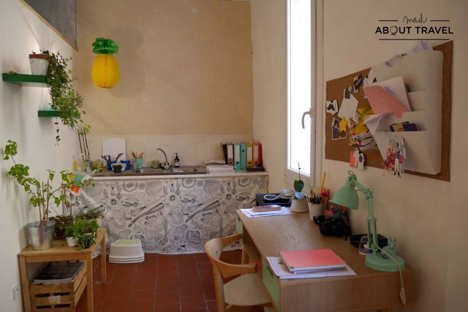 Curso de cocina en L'Âne à Nageoires