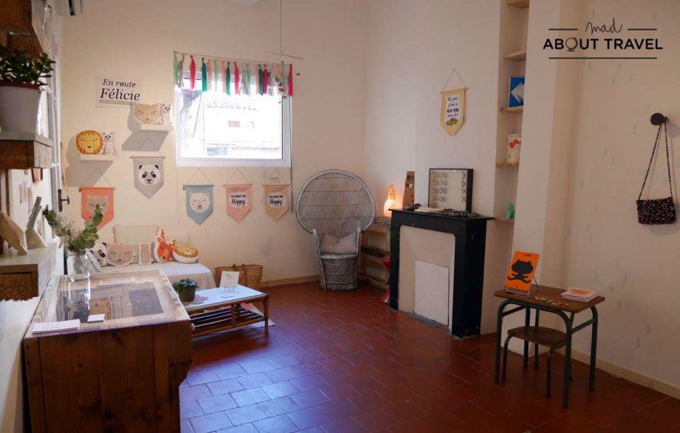 Showroom en L'Âne à Nageoires en Aix-en-Provence
