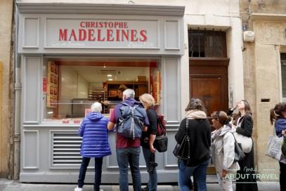 que comer en aix-en-provence: christophe madeleines