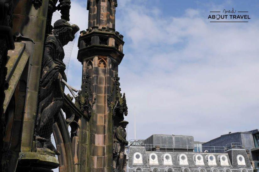 Monumento a Walter Scott en Edimburgo
