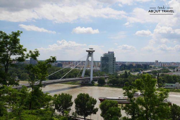 que ver en bratislava - danubio y ufo