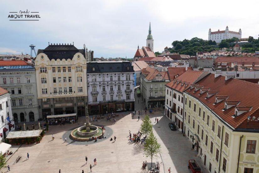 que ver en bratislava en un día vistas