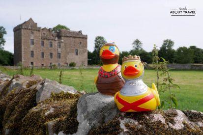 ruta en coche por escocia castillo de huntingtower