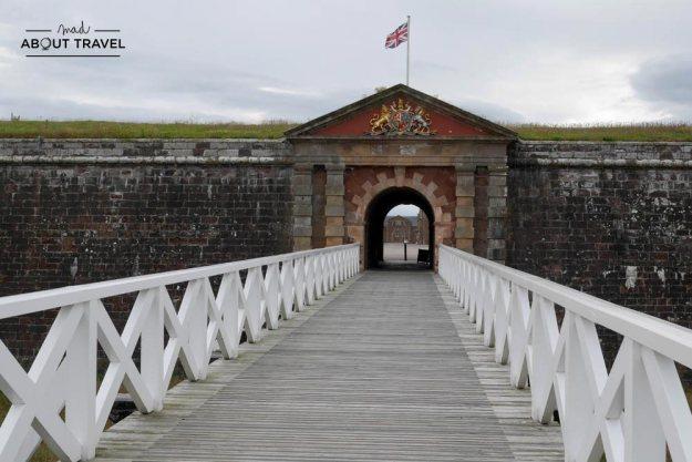 ruta en coche por las highlands - fort george inverness