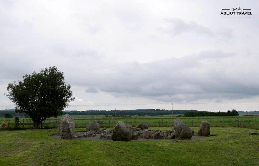ruta en coche por escocia - círculo de piedras de cullerlie