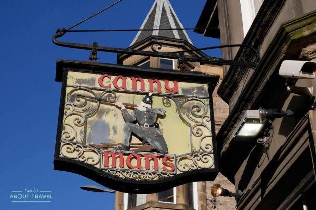 pub canny man's en Morningside Edimburgo
