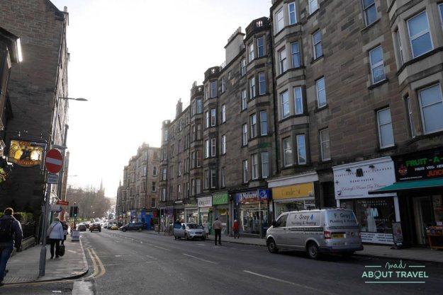 barrio de Morningside Edimburgo