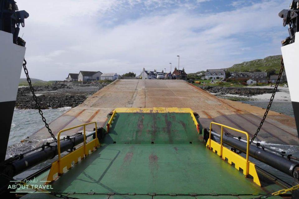 llegada a la isla de iona en escocia