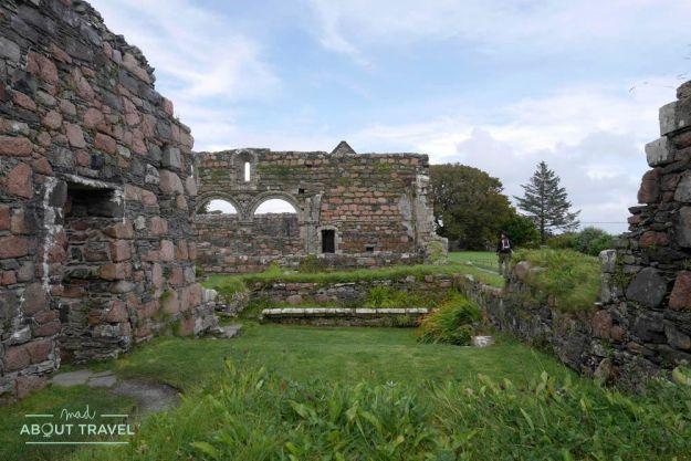 convento de monjas agustinas en la isla de iona