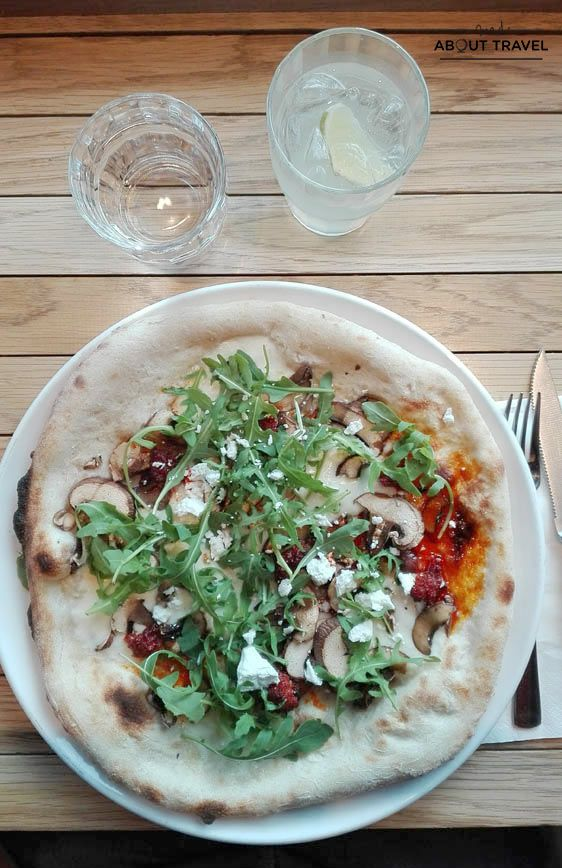 donde comer en Edimburgo: Wildmanwood Pizza