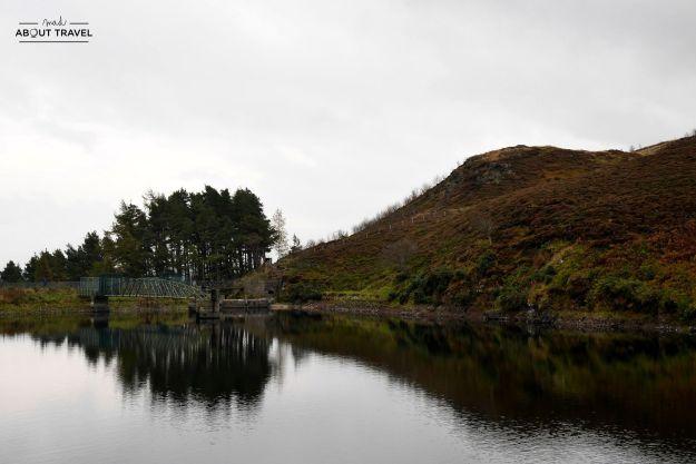 torduff reservoir en los pentlands escocia