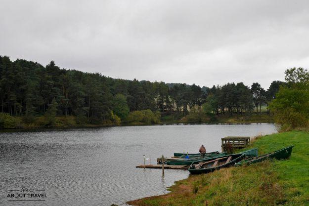 clubbidean reservoir en los pentlands escocia