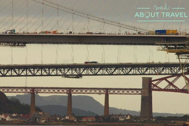puentes sobre el río forth en escocia