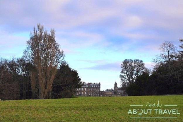 terrenos de hopetoun house en south queensferry