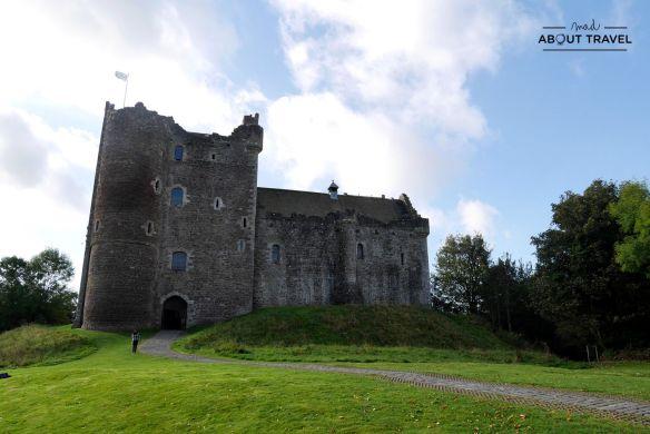 castillo de doune, castillo leoch en Outlander