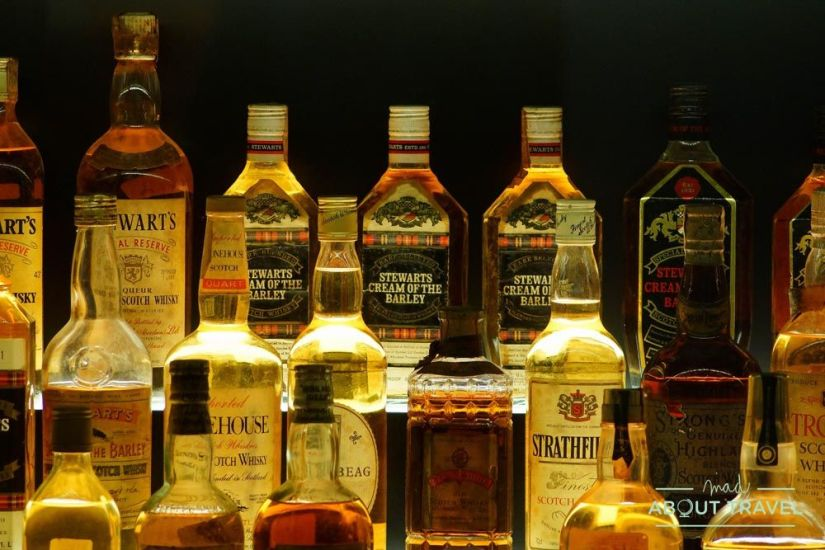 visita a la scotch whisky experience