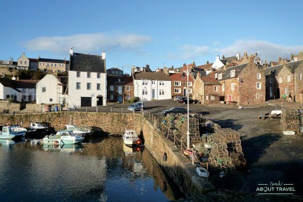 pueblos más bonitos de Escocia: crail