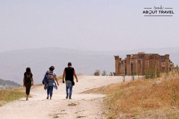 ruinas de jerash en jordania