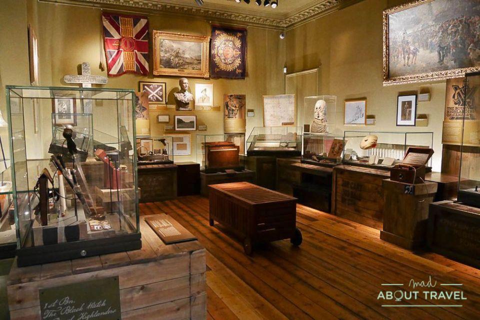 que ver en perth: castillo de balhousie y Black Watch Museum