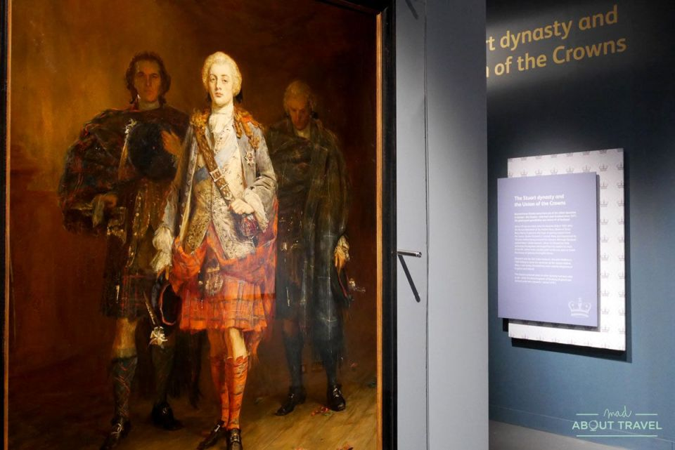 exposición Bonnie Prince Charlie and the Jacobites en el Museo Nacional de Escocia
