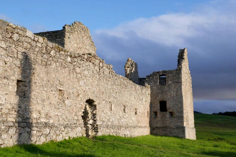 ruta jacobita en escocia - ruthven barracks