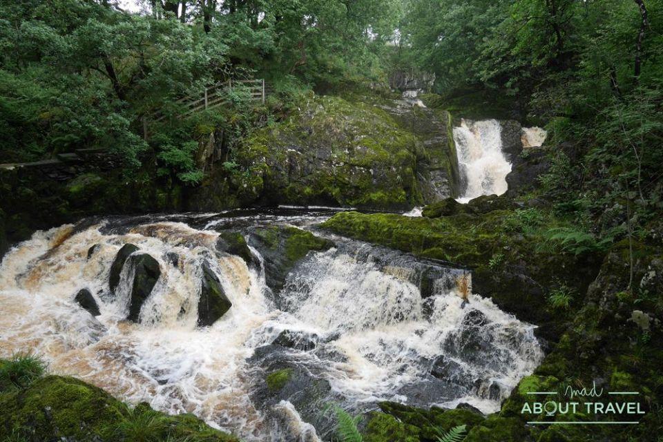 ruta senderista de las cascadas de ingleton, yorkshire dales, cumbria