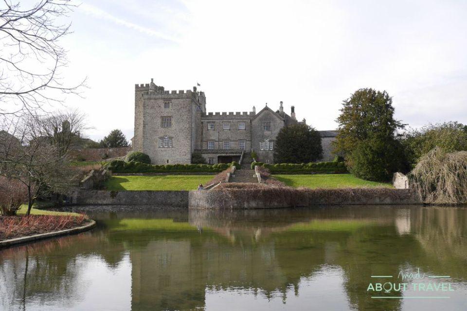 castillo de sizergh en el lake district, inglaterra