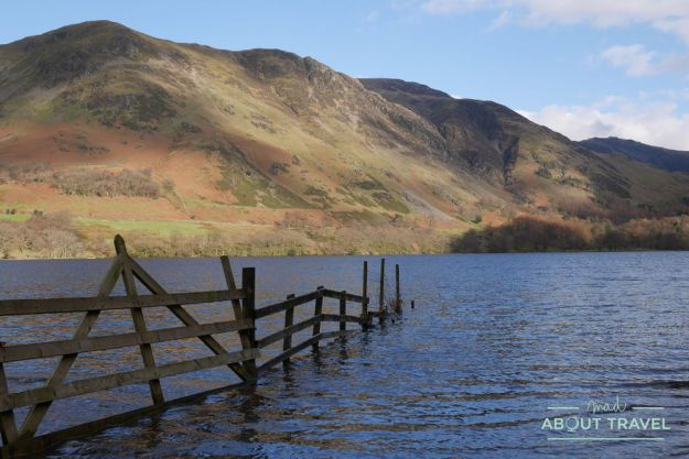 lago buttermere en el lake district, inglaterra
