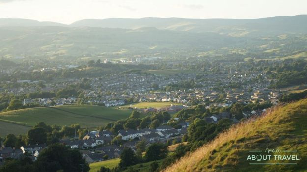 pueblo de kendal, lake district inglaterra
