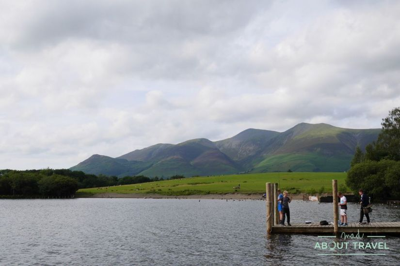 lago derwent en keswick, lake district
