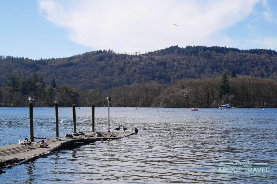 lago windermere en el lake distric inglaterra