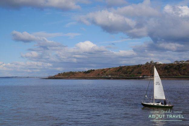puerto pesquero de maryport en cumbria, inglaterra